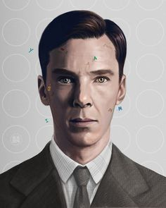 Imitation Game - Alan Turing by lunzh