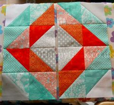HST Diamond Quilt Block Tutorial 3