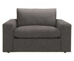 Harding Chair & Ottoman - Chairs - Living - Room & Board