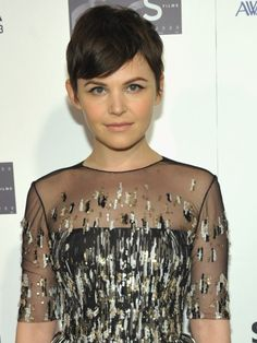 Ginnifer Goodwin is flawless. I love her hair.