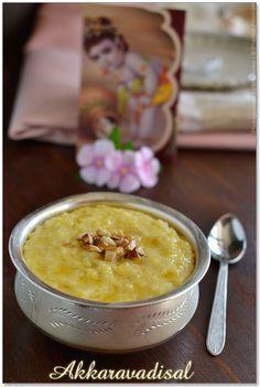 Samai Varagu Sakkarai Pongal Recipe (Millet Sweet Pongal) | Sharmis Passions