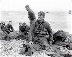 D-Day Landing at Normandy Beach 1944 by Walter Rosenblum
