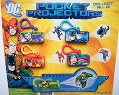 Amazon.com: DC Superhero Figure Mini Flashlight Projectors set of 8 with Batman Superman Etc With Bonus DC Superhero Launcher Figure: Everyt...