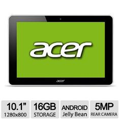 Alternate view 1 for Acer Iconia AS-A10-L614 Android 16GB Tablet REFURB