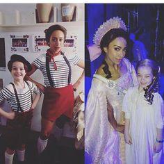 My favorite twins! . . #Anastasia #anastasiamusical #anastasiabroadway #theatre #broadway #musical #hartfordstage #hartfordhasit #journeytothepast #fanastasia #fanastasias