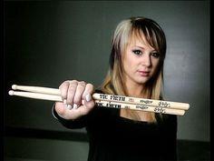 Hottest female metal drummer- Skillet-Drum Solo at Del Mar AMAZING!