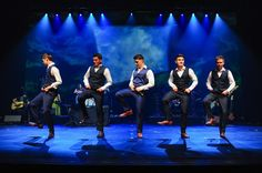 Celtic Thunder giving Riverdance a run for their money? Such faces, such positions, such, such handsomeness! Damian McGinty, Ryan Kelly, Michael, O'Dwyer, Emmet Cahill, and the marvelous Neil Byrne!