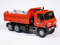#LEGO Tatra 815 with tipper