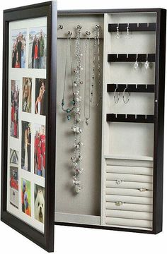 Photo frame jewelry box