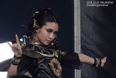 Moa Kikuchi, Live Band, Heavy Metal Bands, Famous Girls, Dimples, Poses, Beautiful, Baby, Fashion