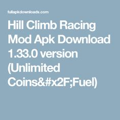hill climb racing mod apk apkpure