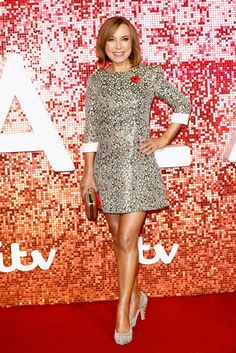 Sian Williams Photos - Sian Williams arriving at the ITV Gala held at the London Palladium on November 2017 in London, England. Lovely Legs, Great Legs, Sexy Older Women, Sexy Women, Bbc Breakfast Presenters, Holly Willoughby Legs, Bbc Presenters, Celebrity Boots, Charlotte Hawkins