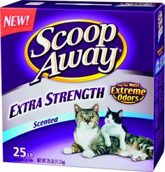 Scoop Away Extra Strength, Scented Litter - 25 lb >>> Review more details here : Cat litter