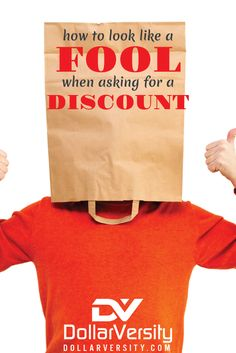 It's ok to ask for discounts, but remember that it's not always about you, and you need to time it right. Otherwise you may come off looking pretty bad.