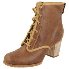 LADIES TIMBERLAND LACE UP ANKLE BOOTS - STYLE - 19698/RUDSTON DSRT BT