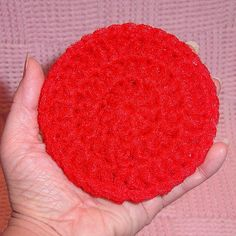Free Patterns For Loom Knitting Scrubbies - Yahoo Image Search Results Crochet Dish Scrubber, Crochet Dishcloths, Knit Or Crochet, Crochet Crafts, Yarn Crafts, Sewing Crafts, Free Crochet, Loom Patterns, Craft Patterns