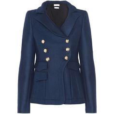 altuzarra seth wool-blend felt jacket...and i need this one too.