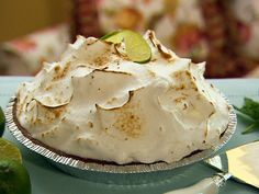 Paula Dean's Key Lime Pie VERDICT: My absolute favorite Key Lime Pie recipe -- so easy to make & it's a show-stopper!