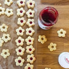 Weihnachtskekse: Klassische Linzer Kekse - Linzerkekse