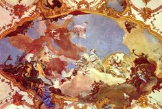 Artist: Giovanni Battista Tiepolo Start Date: 1750 Completion Date:1753 Style: Rococo Genre: allegorical painting http://uploads0.wikipaintings.org/images/giovanni-battista-tiepolo/apollo-leads-frederick-barbarossa-beatrix-of-burgundy-1753.jpg