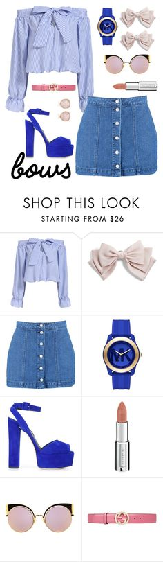 """""""#indygo"""" by green-maze ❤ liked on Polyvore featuring Cara, Boohoo, Michael Kors, Giuseppe Zanotti, Givenchy, Fendi, Gucci and Monica Vinader"""