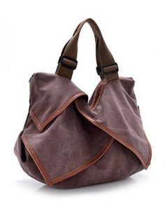 029ce9b26e2b Retro Casual Canvas Women Hobo Tote Bag
