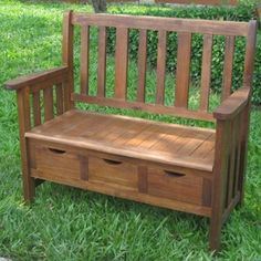 This Wood Outdoor Storage Bench is both functional and gorgeous. Crafted from acacia wood and featuring a dual outdoor stain finish, this beautiful, 3 drawer storage is built to withstand the elements for years of enjoyment.