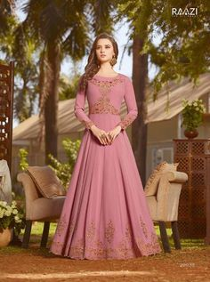 RAMA D.NO.-20030 RATE : 2295 - RAMA FASHION RAAZI VOL 8  RAMA 20025-20032 SERIES  GEORGETTE EMBROIDERED TRADITIONAL OCCASIONALLY FASHION PARTY WEDDING WEAR INDIAN WOMEN FASHION ANARKALI DRESS AT WHOLESALE PRICE AT DSTYLE ICON FASHION CONTACT: +917698955723 - DStyle Icon Fashion