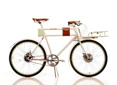 IDEO & Adam Vollmer's beautiful electric (all hidden components) bicycle