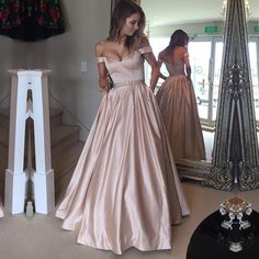 off the shoulder lace appliques burgundy satin wedding dresses ball gowns Ball Gown Dresses, Pink Prom Dresses, Wedding Dresses, Wedding Bridesmaids, Ball Gowns Evening, Formal Evening Dresses, Wedding Dress Material, Lovely Dresses, Outfits