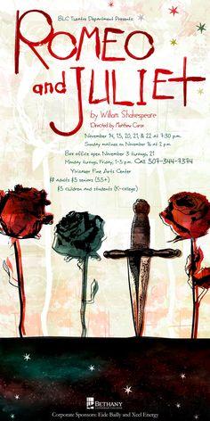 Romeo and Juliet Poster by AmandaQuist.deviantart.com