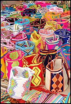 Península Goajira, Edo. Zulia, Bolsos Wayúu, arte inspirado en la naturaleza