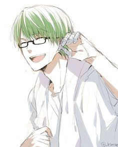 SUNSHINE ! Midorima Shintarou. His smile could cure cancer