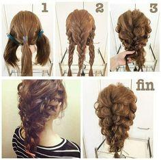 Hair Styles – Hair Care Tips and Tricks Work Hairstyles, Pretty Hairstyles, Wedding Hairstyles, Pixie Hairstyles, Pelo Color Caramelo, Hair Arrange, Pinterest Hair, Hair Dos, Hair Designs