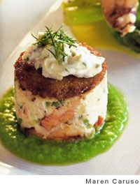 Dungeness Crab Cakes by Nancy Oakes and Pamela Mazzola