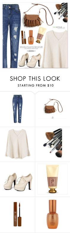"""""""YesStyle"""" by lucky-1990 ❤ liked on Polyvore featuring Flore, Goroke, MANGO, Sidewalk, Sinclair, The History of Whoo and Sulwhasoo"""