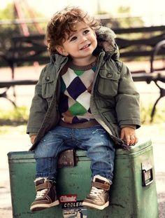 New Ideas Baby First Haircut Boy Black Kids Fashion Fashion Kids, Toddler Boy Fashion, Little Boy Fashion, Toddler Boy Outfits, Toddler Boys, Kids Boys, Girl Fashion, Spring Fashion, Toddler Boy Haircuts
