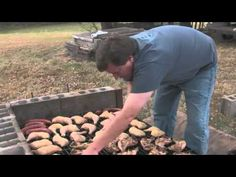 Kentucky Open Pit Barbecue: Tim Russell Style - Tim shows us the traditional southern way to barbecue that he learned from his grandfather, shoveling hardwood coals into a homemade pit.