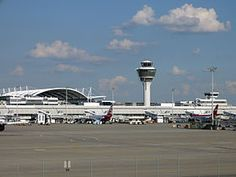 International Airport in Munich, Germany.