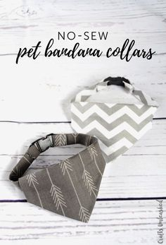 This tutorial for a no-sew DIY dog collar bandana comes together in less than an hour! It's fast and fun to assemble and will get so many compliments! # Dogs frases DIY Dog Collar: No-Sew Bandana Collar - Consumer Crafts Dog Collar Bandana, Diy Dog Collar, Dog Collars, Bandana For Dogs, Diy Crochet Dog Collar, Bandana Ideas, Puppy Bandana, Cat Bandana, Diy Collier