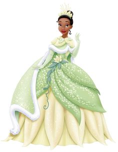 Princess Tiana in Winter