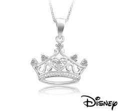 Disney Crown Pendant - $10 free shipping today on 1saleaday. bought for my girls for when they are older to know they are princesses to a King.