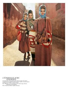 "Vogue Paris February 2010 ""Vogue-a-Porter"" by Inez van Lamsweerde & Vinoodh Matadin"