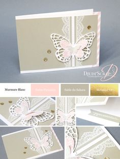 Birthday Card Set Delicate Details - Djudiscrap
