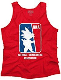 Dragon National Association Ball Z Goku Gym Tank Top Shirt