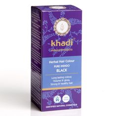 Khadi - Hair Colour - Pure Indigo - black - 100g >>> This is an Amazon Affiliate link. Click image to review more details.