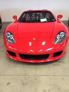 Red Carrera GT. Porsche CarreraSports CarsLuxury ...