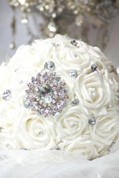 Bridesmaid Bouquet, by Krystal Kouture Bridesmaid Bouquet, Krystal, Birthday Cake, Brooch, Design, Bridesmaid Corsage, Birthday Cakes, Crystal, Design Comics