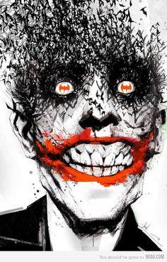 The Joker Geekdom, Geek out, Fun, Funstuff, Nerd, Nerdy Fragyl Mari Lady Gamer Nerd Nut