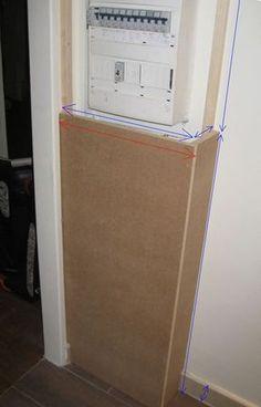 cache tableau electrique 988 2358 organisation pinterest contador decoracion. Black Bedroom Furniture Sets. Home Design Ideas